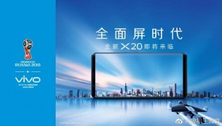 Vivo X20 appears in World Cup 2018 posters
