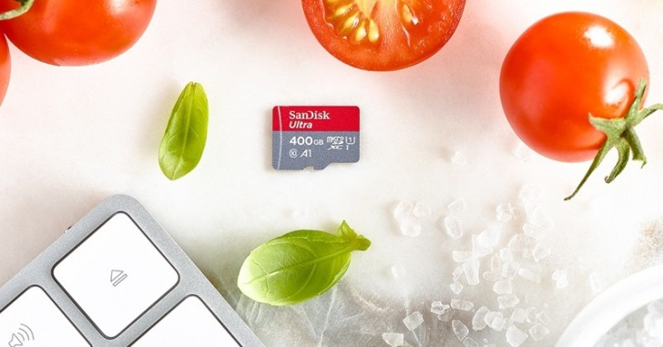 WD introduces SanDisk Ultra microSDXC card with 400 GB capacity