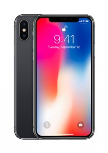 Apple iPhone X in: Space Grey