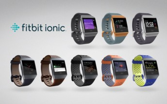 Fitbit Ionic smartwatch becomes available on October 1 for $299.95