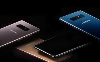 Samsung Galaxy Note8 debuts in India