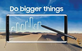 Samsung Galaxy Note8 reaches 850,000 pre-orders in South Korea