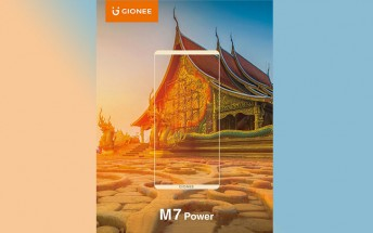 Gionee is announcing the M7 Power with FullView display on September 28