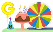 Google celebrates its 19th birthday