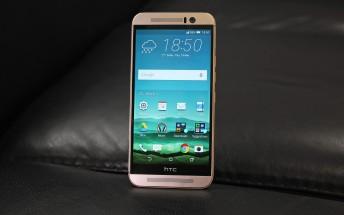 Verizon's HTC One M9 finally gets Nougat