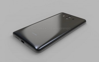 Huawei Mate 10 shown off in leaked renders, video
