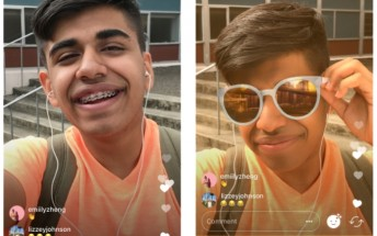 Instagram adds face filters to live video