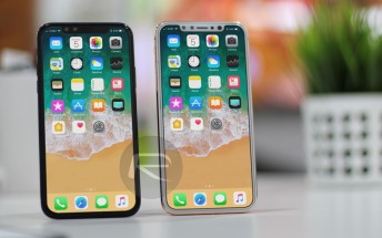 Apple iPhone X (or Edition) sized up to all previous iPhones