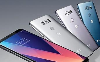 LG's new V30 smartphone begins shipping