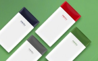 Meizu M20 10,000mAh power bank fast charges both ways