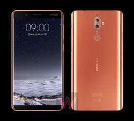 Nokia 8 renders
