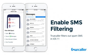 Truecaller adds SMS spam filtering functionality on iOS