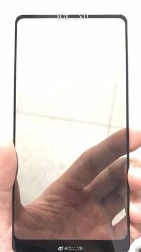 Xiaomi Mi Mix 2 front panel leaks
