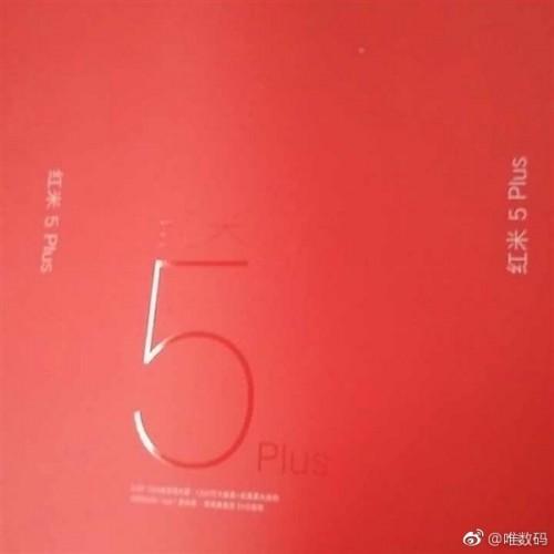 Retail box of Xiaomi Redmi 5 Plus leaks