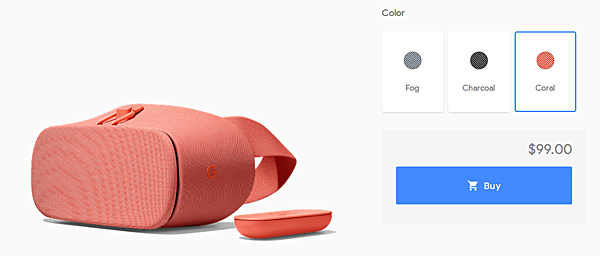 Google's new Daydream View VR headset goes on sale