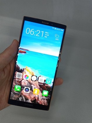 Gionee M7 Plus front