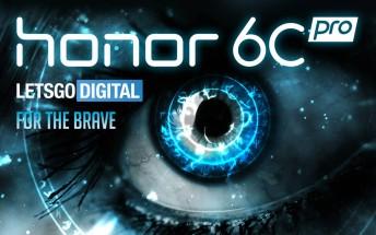 Honor 6C Pro leaks via manual
