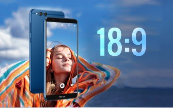 Huawei Honor 7X goes official with 18:9 screen, dual camera