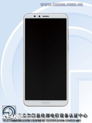 Huawei Honor 7X front