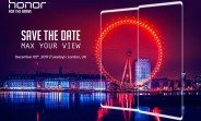 Honor to launch a bezel-less phone on December 5