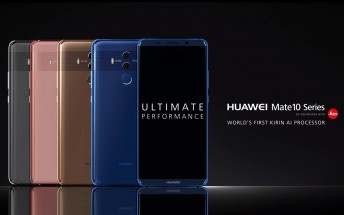 Huawei Mate 10 trio of videos released