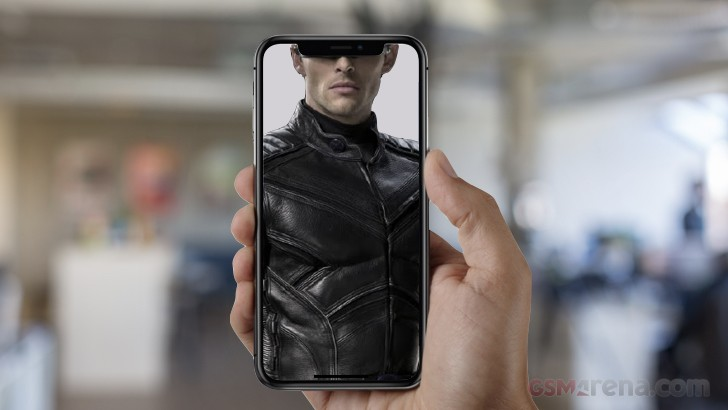 The iPhone X notch looking more like Cyclops from the X-Men