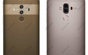 New leaked image portrays Huawei Mate 10 next to its predecessor