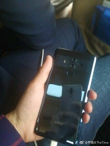Huawei Mate 10 Pro spotted in the wild