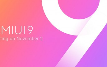 Stable MIUI 9 Global ROM arrives on November 2, Xiaomi confirms