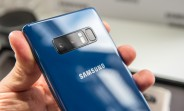 Galaxy Note8 in Deep Sea Blue can now be pre-ordered in Germany, ships October 26