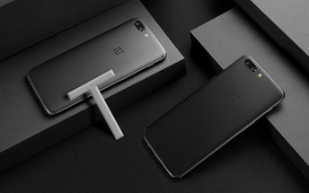 OnePlus 5T images and tagline surface