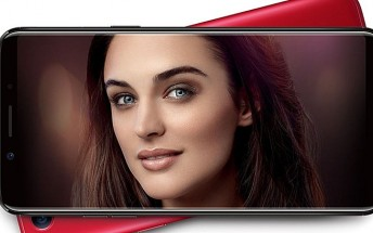 New Oppo F5 leak reveals 12MP dual selfie camera