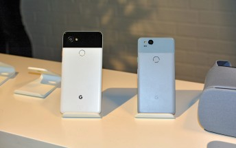 Google Pixel 2 and Pixel 2 XL pre-orders now shipping, both available in-store at Verizon on Thursday