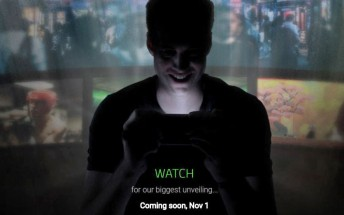 Razer is going to announce something on Nov 1, and it could be a smartphone