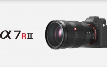 Sony announces a7R III with faster AF, more fps and longer battery life