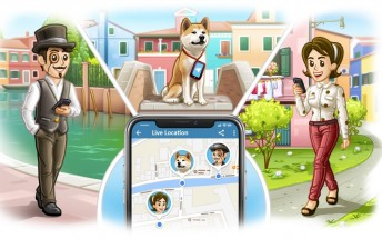 Telegram updated with live location, new media player and languages