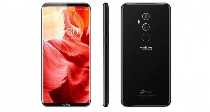 Renders of Neffos with 18:9 screen appear in the wild