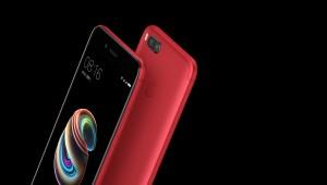 The Xiaomi Mi 5X looks great in red