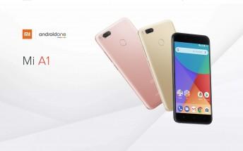 Xiaomi Mi A1 goes on sale in Europe