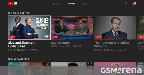Youtube Tv Finally Gets Apps For Smart Tvs Android Tv Xbox And