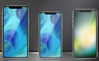 Apple to launch three new iPhone X-like devices next year