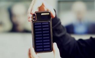 iPhone X Tesla back