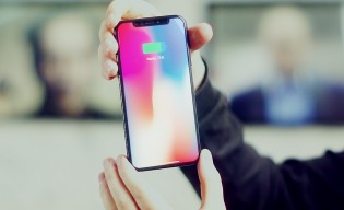iPhone X Tesla front