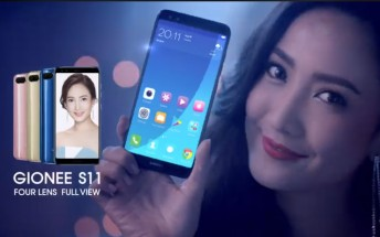 Gionee unveils six FullView smartphones, M7 Plus and S11S lead the charge