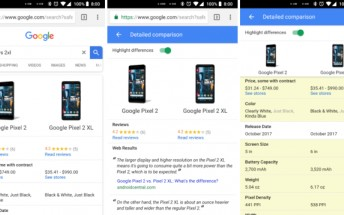 New Google Search feature lets you compare device specifications
