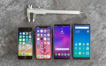 Measuring the bezels of the iPhone X - can Apple win the bezel-less war?