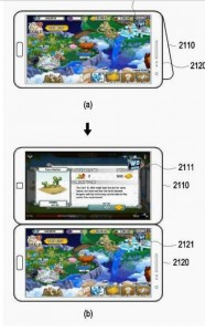 Gaming on two screens, similar to the Nintendo 3DS