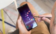 Unlocked Samsung Galaxy Note8 first update arrives