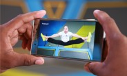 Sony Xperia XZ Premium captures trampoline dodgeball at 960fps