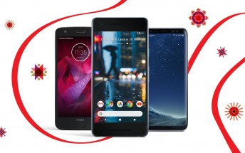 Verizon offers up to 50% off Pixel 2, Galaxy S8, Moto Z2 Force for Black Friday